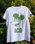 Drug Store Acid Mouse Tee White/Green