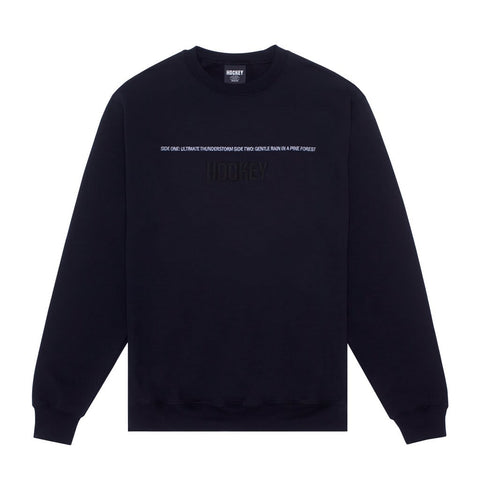 Hockey Side Two Crewneck Sweatshirt Black