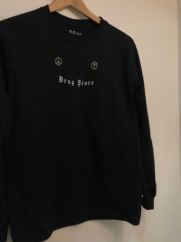 Drug Store Originals - Kids on Dope Longsleeve Black