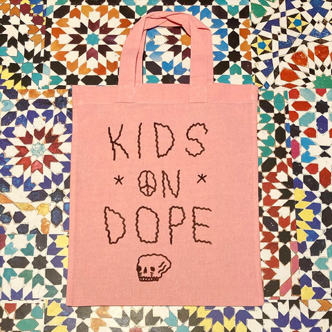 Drug Store mini tote pink kids on dope