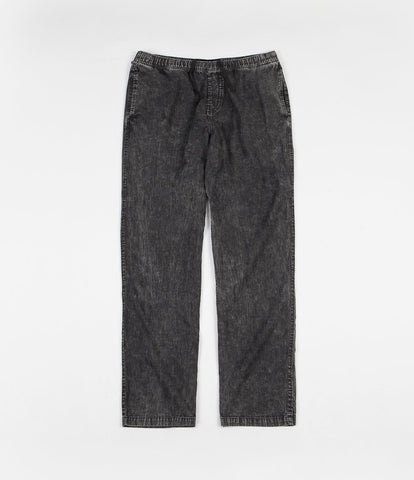 Brixton Steady Pant Black Acid Wash