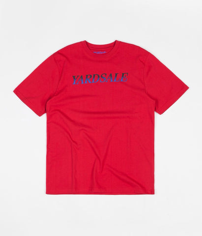 Yardsale Fade Tee Red