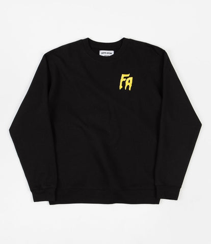 FA Crewneck Sweatshirt - Black