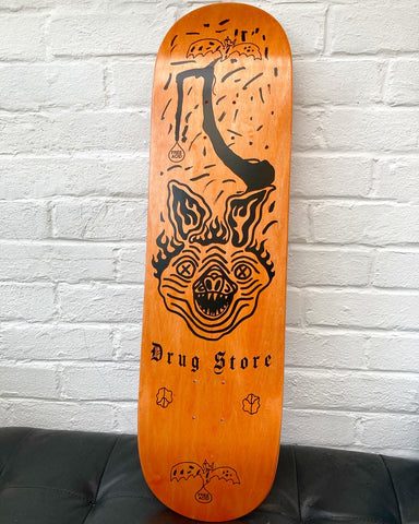 Drug Store Bat Shit Crazy deck orange
