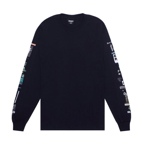 Hockey Summoned L/S Tee Black