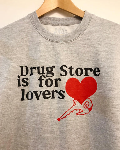 Drug Store Originals - Lover Mouse Crew Grey