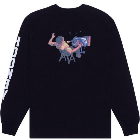 Hockey Ultra Violence L/S Tee Black
