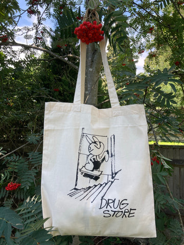 Drug Store Tom tote bag