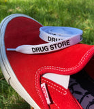 Drug Store Shoe Laces White