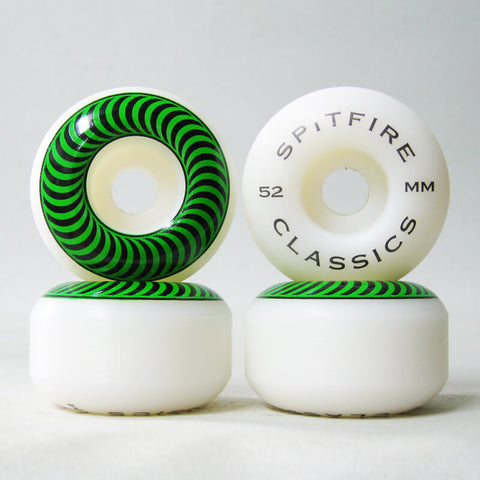 Spitfire Classics 52mm 99a wheels