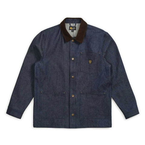 Brixton x Independent Yard Denim Jacket Raw Indigo