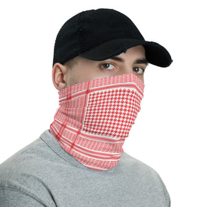 Red Shemagh Neck Gaiter