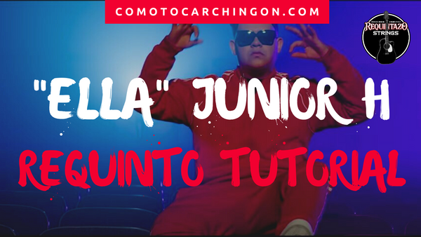 Ella Junior H Requinto Letra Acordes Guitarra Tutorial - Jovanny Castillo