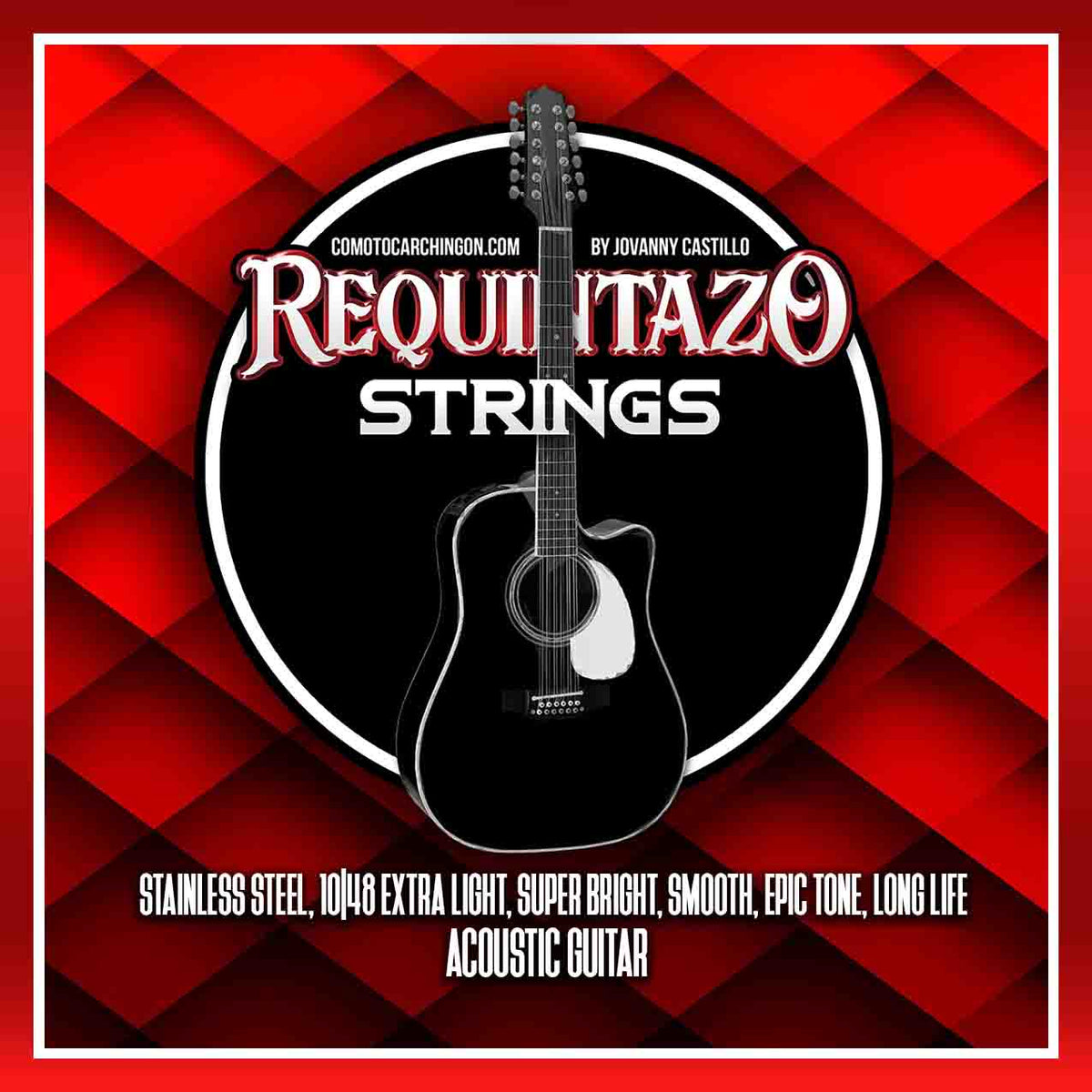 Requintazo Bundle (2 Sets + Picks) for 6 String Guitars Only! - Como Tocar Chingon