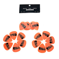 Requintazo Picks 12 PCS 0.60MM Delrin Ultra Speed - Como Tocar Chingon