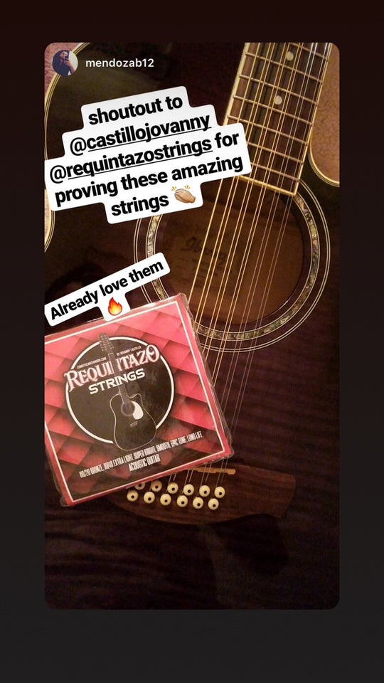 Requintazo Strings! Las Cuerdas Mas Chingonas!!! 12 String Pack - Como Tocar Chingon