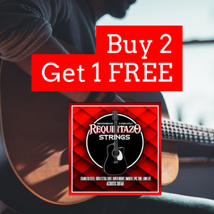 Buy 2 Get 1 FREE - Requintazo 6 String Packs - Como Tocar Chingon