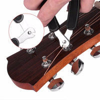 3 in 1 Utimate Guitar String Tool!!! String Winder, Cutter and Pin Puller - Como Tocar Chingon