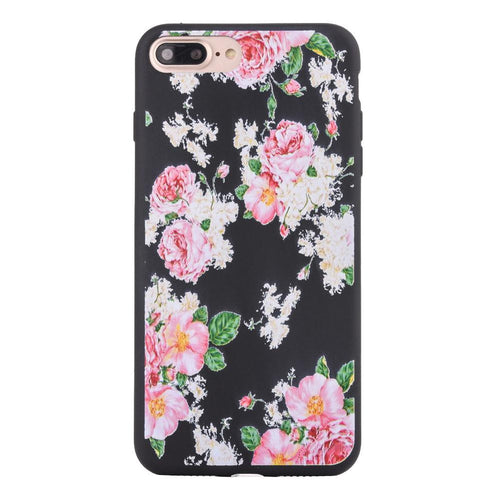 Iphone 7 Plus Case Flower Soft Cover - Trijen