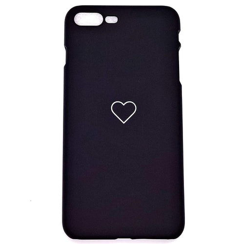 Iphone 7 Plus Case Love Heart Print Back Cover - Trijen