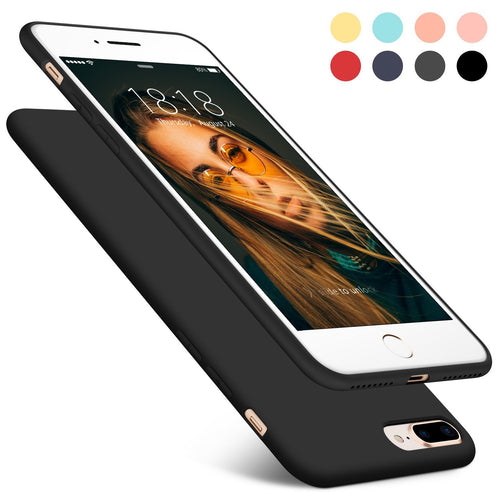 Iphone 8Plus Cool Breeze Color Matte Frosted Tpu Case - Trijen