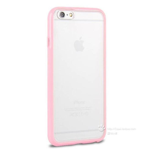Iphone 7Plus Candy Color Matte Frosted Cover - Light Pink - Trijen