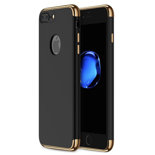Iphone 8 Plus Case 3 In 1 Hybrid Black And Gold - Trijen