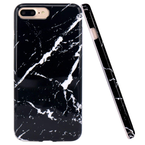 Iphone 8 Plus Case Marble Pattern Silicone - Trijen