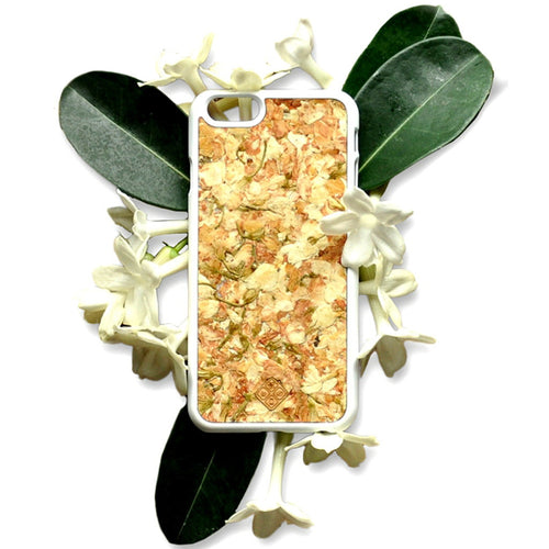 iPhone 7 Plus Case, Handcrafted Organika Jasmine