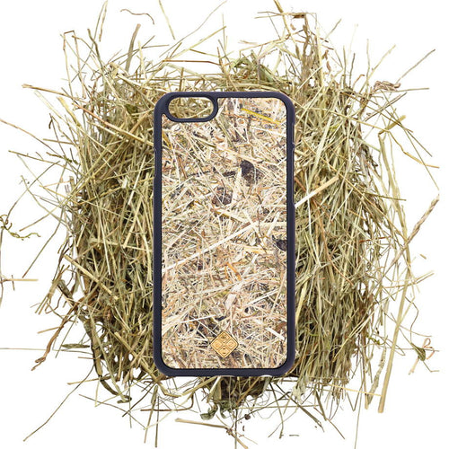 iPhone 7 Plus Case, Handcrafted  Organika Alpine Hay