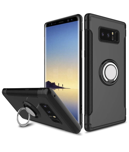Samsung Galaxy Note 8 Case Hybrid Magnetic Ring - Trijen