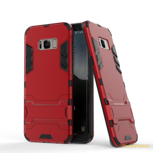 Samsung Galaxy S8 Plus Case Defender Case Impact Hybrid Armor Hard Protect Cover - Trijen