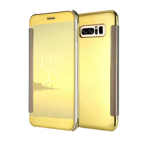Samsung Glaxy Note 8 Luxury Full Flip Cases Clear View Smart Cover Case - Trijen