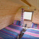 Pod with Meals (Sleeps 2) - Two People - Main Weekend