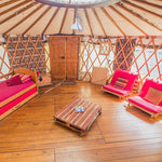Yurt (Sleeps 2 - Twin Beds) - Two People - Main Weekend