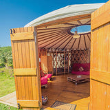 Yurt (Sleeps 2 - Double Bed) - Two People - Main Weekend & BCU Week