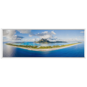 LIMITED EDITION - Bora Bora Panoramic Canvas by Hamish Stubbs