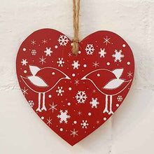 Load image into Gallery viewer, Christmas Hearts - Three