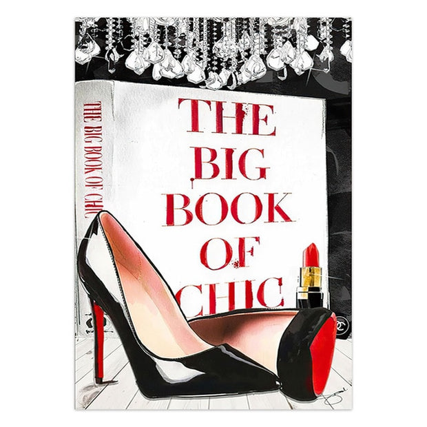 "Tableau ""The Big Book Of Chic"""