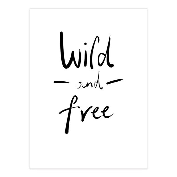 "Tableau ""Wild and free"""