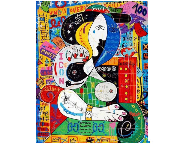 tableau picasso pop art