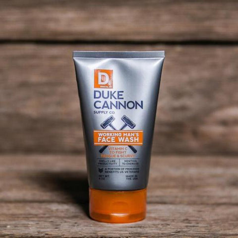 Duke Cannon Working Man's Face Wash
