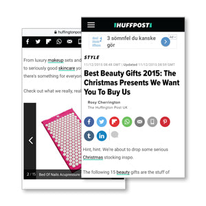 huffington post huffpo Best Beauty Gifts The Christmas Presents We Want You To Buy Us Bed of nails ease stress, help back pain, reduce the appearance of cellulite and it even claims to help tackle insomnia.