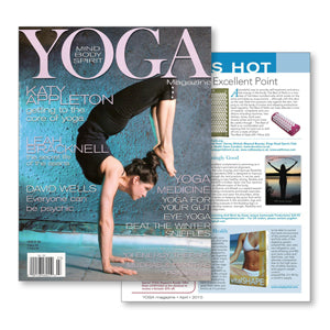 yoga magazine bed of nails press feature