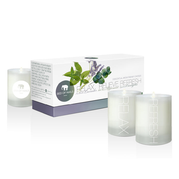 BON 3 Set Aromatherapy Candles - Bed of Nails