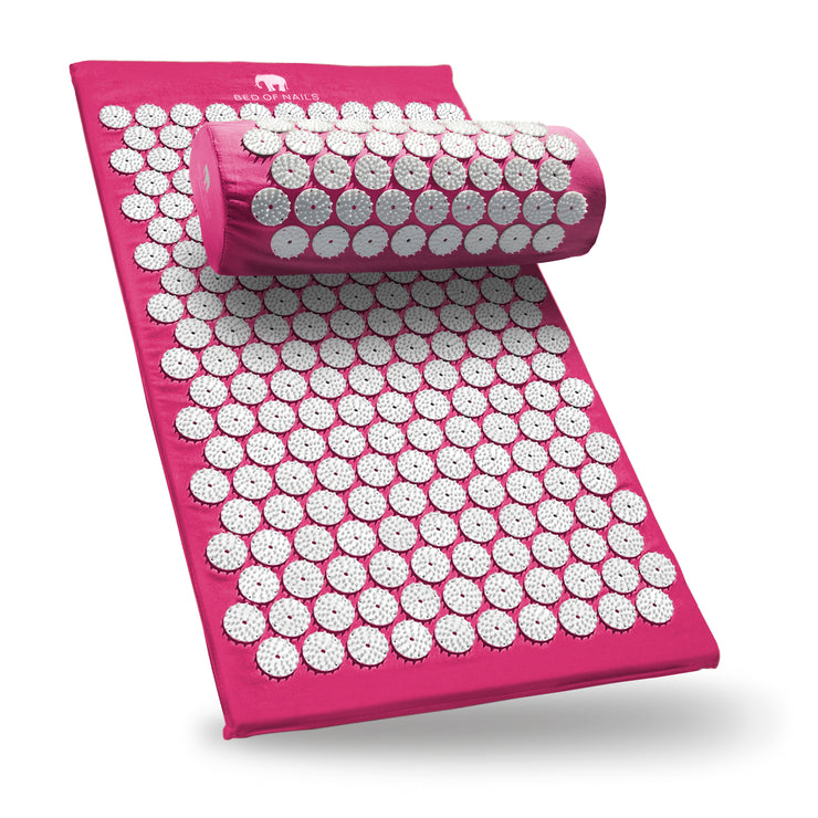 BON Mat & Pillow - Pink - Bed of Nails