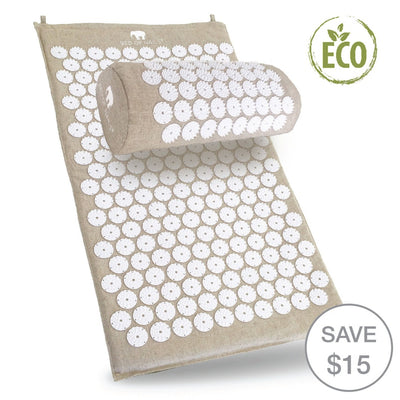 BON ECO Mat & Pillow Bundle - Bed of Nails