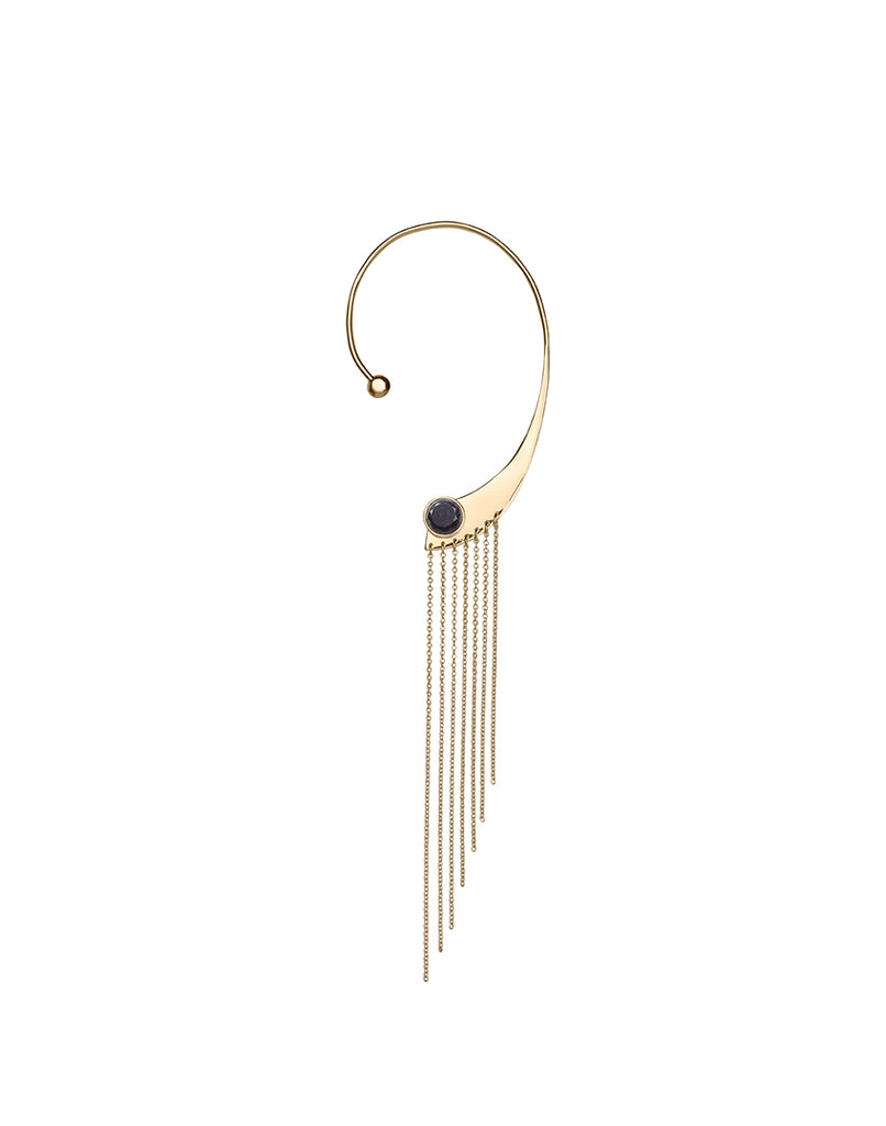 OUR LIPS<br>Earring, right (one piece), 18k gold