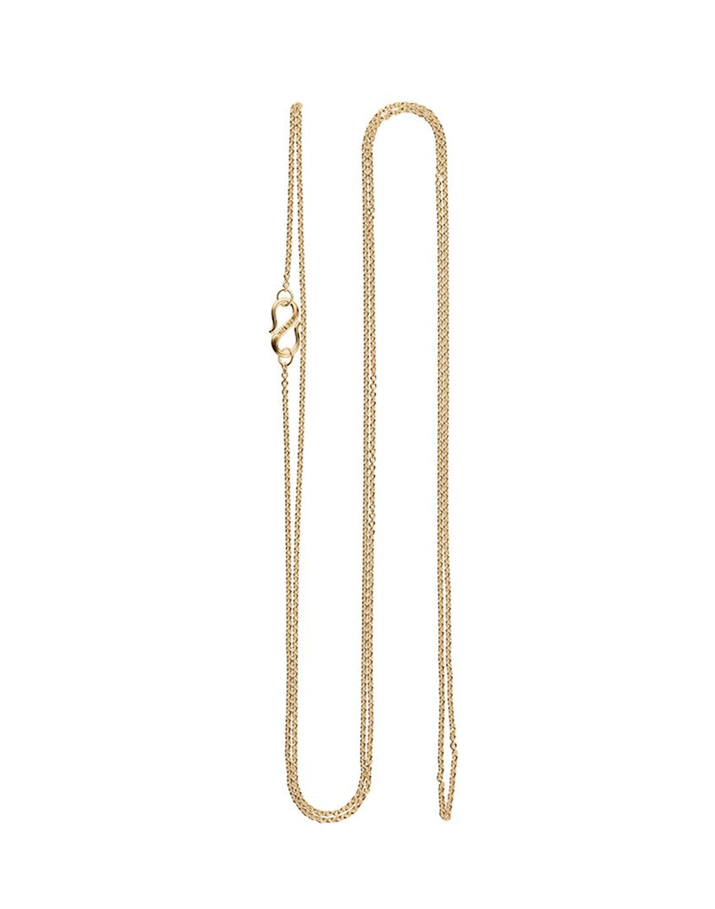 CHAIN 90 CM<br>Necklace, 18k gold