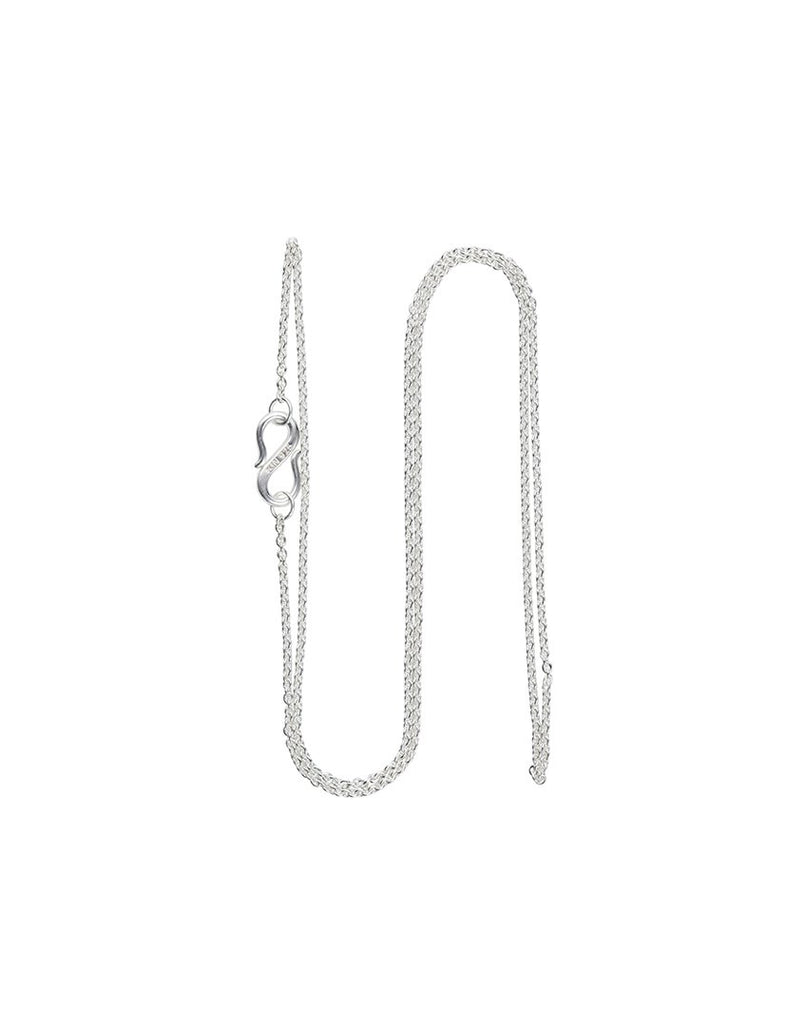 CHAIN 45 CM<br>Necklace, sterling silver